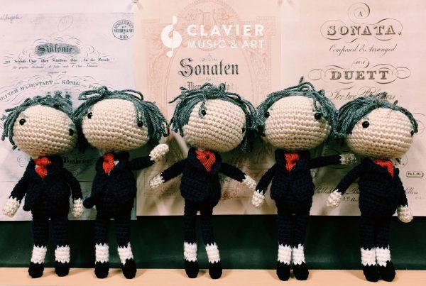 beethoven handmade doll