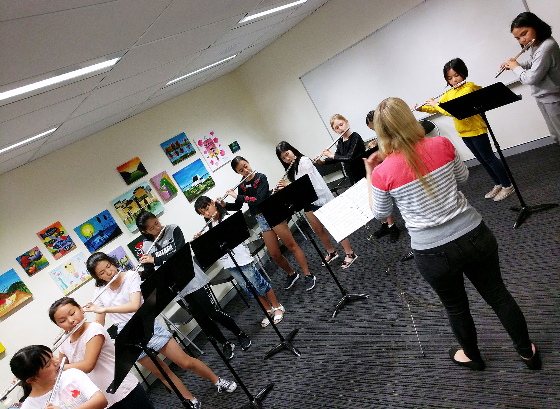 Flute Lesson at Hurstville, Clavier Music & Art